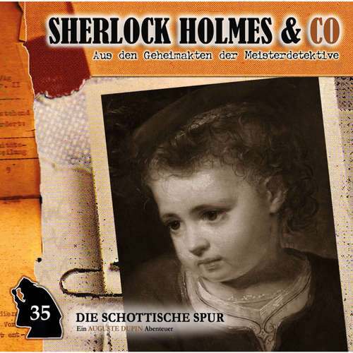 Hoerbuch Sherlock Holmes & Co, Folge 35: Die schottische Spur - Markus Duschek - Douglas Welbat