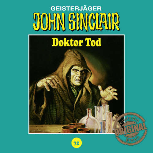 Hoerbuch John Sinclair, Tonstudio Braun, Folge 72: Doktor Tod - Jason Dark -  Diverse