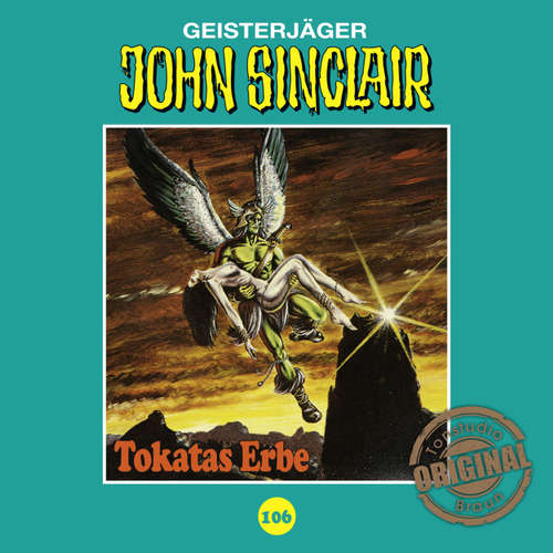 Hoerbuch John Sinclair, Tonstudio Braun, Folge 106: Tokatas Erbe - Jason Dark -  Diverse