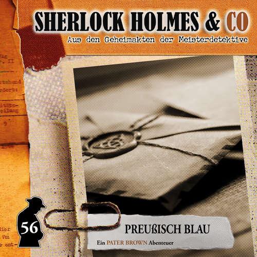 Hoerbuch Sherlock Holmes & Co, Folge 56: Preußisch Blau - Thorsten Beckmann - Douglas Welbat
