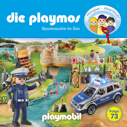 Hoerbuch Die Playmos, Folge 73: Spurensuche im Zoo (Das Original Playmobil Hörspiel) - Christoph Dittert - Gerrit Schmidt-Foß