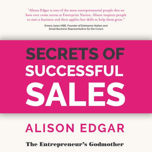 Audiobook Secrets of Successful Sales - Alison Edgar - Alison Edgar