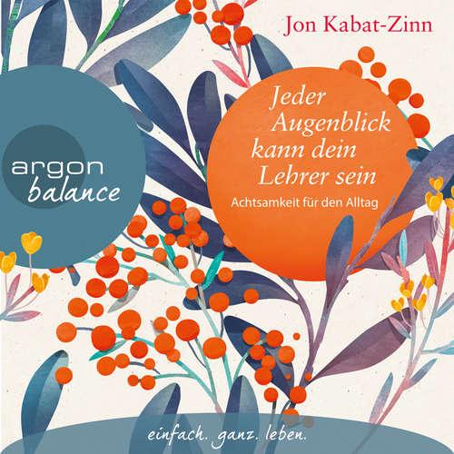 Hoerbuch Jeder Augenblick kann dein Lehrer sein - Achtsamkeit für den Alltag - Jon Kabat-Zinn - Andreas Neumann