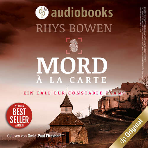 Hoerbuch Mord à la Carte - Ein Fall für Constable Evans-Reihe, Band 4 - Rhys Bowen - Omid-Paul Eftekhari
