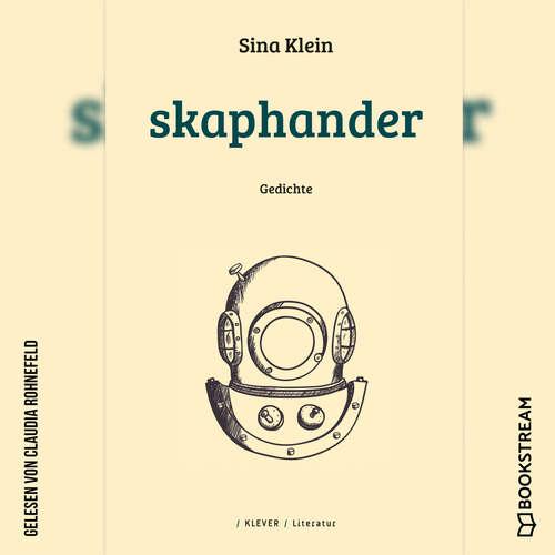 Hoerbuch Skaphander - Gedichte - Sina Klein - Claudia Rohnefeld