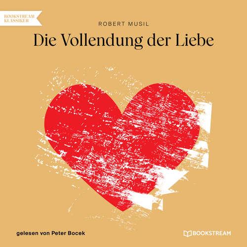 Hoerbuch Die Vollendung der Liebe - Robert Musil - Peter Bocek