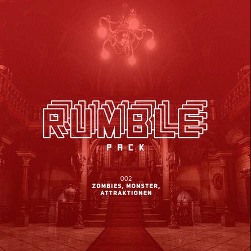 Hoerbuch Rumble Pack - Die Gaming-Sendung, Folge 2: Zombies, Monster, Attraktionen - Julian Laschewski - Julian Laschewski