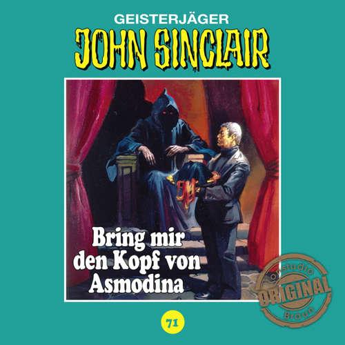 Hoerbuch John Sinclair, Tonstudio Braun, Folge 71: Bring mir den Kopf von Asmodina. Teil 3 von 3 - Jason Dark -  Diverse