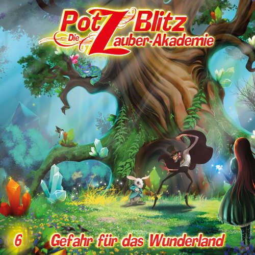 Hoerbuch Potz Blitz - Die Zauberakademie, Folge 6: Gefahr für das Wunderland - Christoph Piasecki - Jürgen Thormann