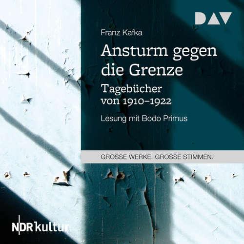 Hoerbuch Ansturm gegen die Grenze. Tagebücher von 1910-1922 - Franz Kafka - Bodo Primus