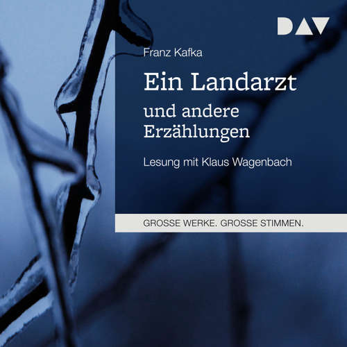 Hoerbuch Ein Landarzt und andere Erzählungen - Franz Kafka - Klaus Wagenbach