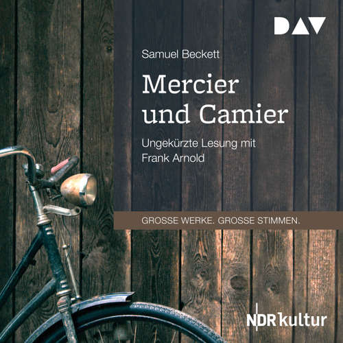 Hoerbuch Mercier und Camier - Samuel Beckett - Frank Arnold