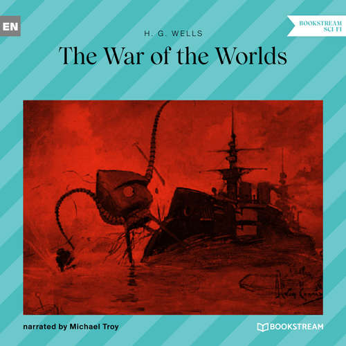 Audiobook The War of the Worlds - H. G. Wells - Michael Troy