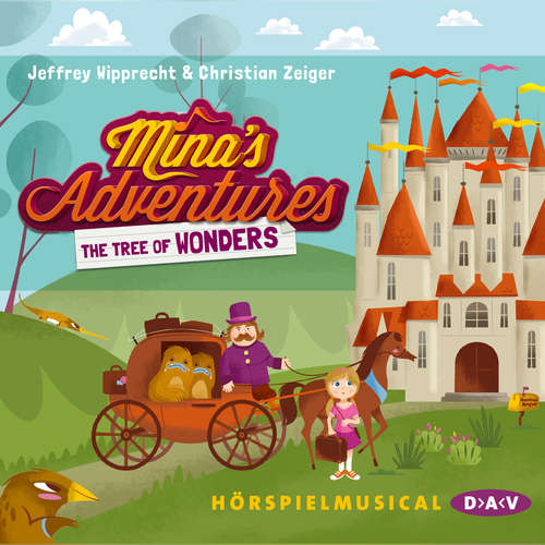 Audiobook Mina's Adventures - The Tree of Wonders (Hörspiel) - Jeffrey Wipprecht - Kai Lüftner