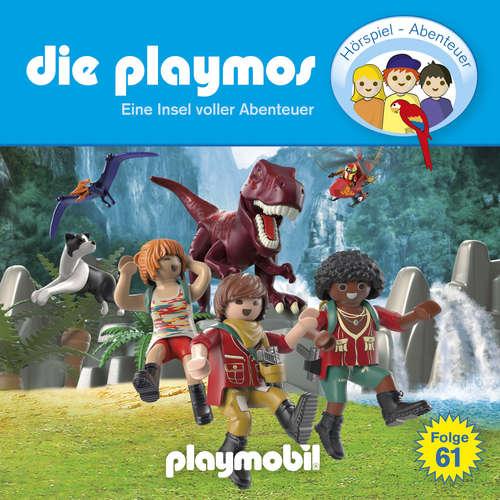Hoerbuch Die Playmos - Das Original Playmobil Hörspiel, Folge 61: Eine Insel voller Abenteuer - Simon X. Rost - Gerrit Schmidt-Foß