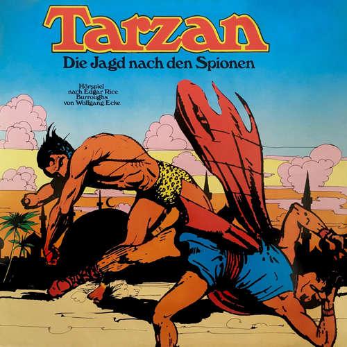 Hoerbuch Tarzan, Folge 3: Die Jagd nach den Spionen - Edgar Rice Burroughs - Wolfgang Reinsch