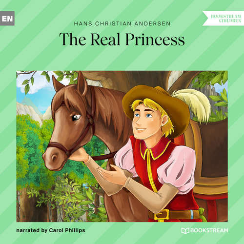 Audiobook The Real Princess - Hans Christian Andersen - Carol Phillips