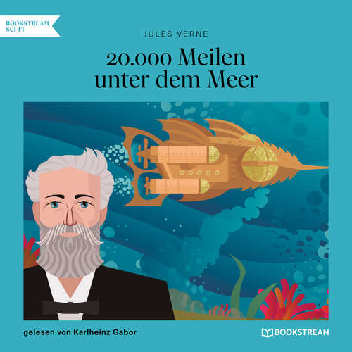 Hoerbuch 20.000 Meilen unter dem Meer - Jules Verne - Karlheinz Gabor