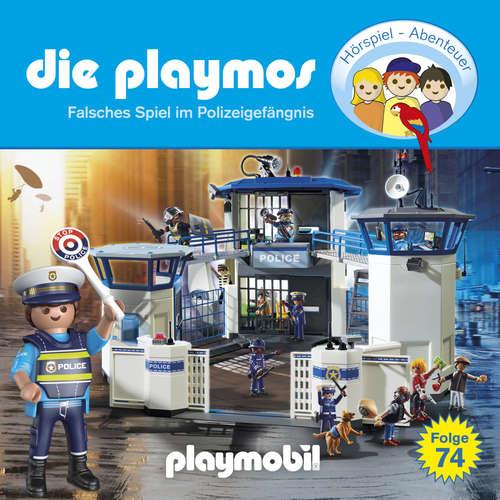 Hoerbuch Die Playmos, Folge 74: Falsches Spiel im Polizeigefängnis - David Bredel - Gerrit Schmidt-Foß