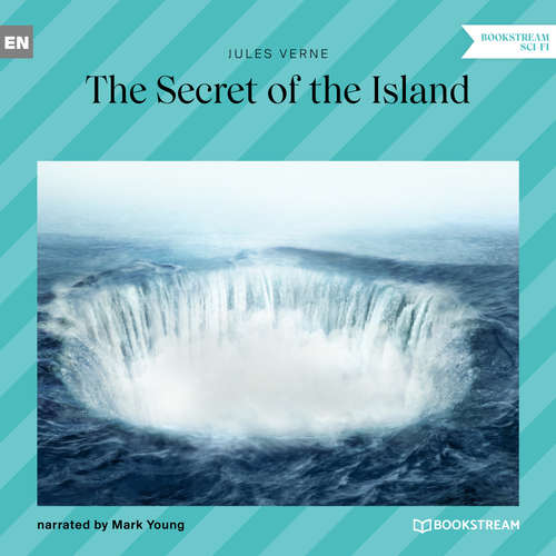Audiobook The Secret of the Island - Jules Verne - Mark Young
