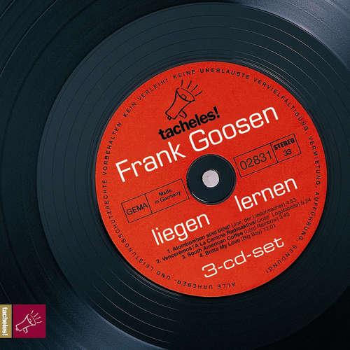 Hoerbuch liegen lernen - Frank Goosen - Frank Goosen