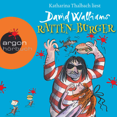 Hoerbuch Ratten-Burger - David Walliams - Katharina Thalbach