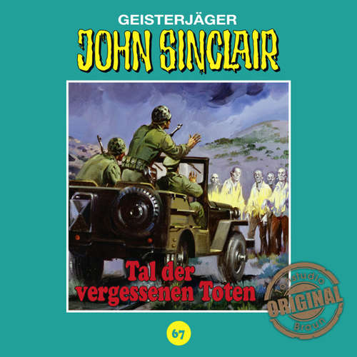 Hoerbuch John Sinclair, Tonstudio Braun, Folge 67: Tal der vergessenen Toten - Jason Dark -  Diverse
