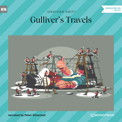 Audiobook Gulliver's Travels - Jonathan Swift - Peter Silverleaf