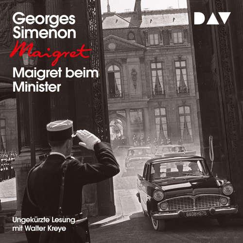 Hoerbuch Maigret beim Minister - Georges Simenon - Walter Kreye