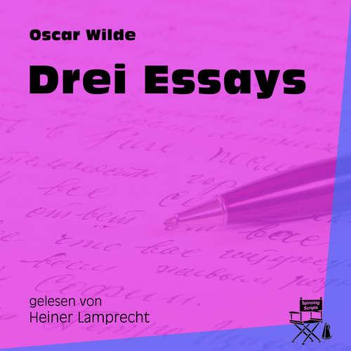 Hoerbuch Drei Essays - Oscar Wilde - Heiner Lamprecht