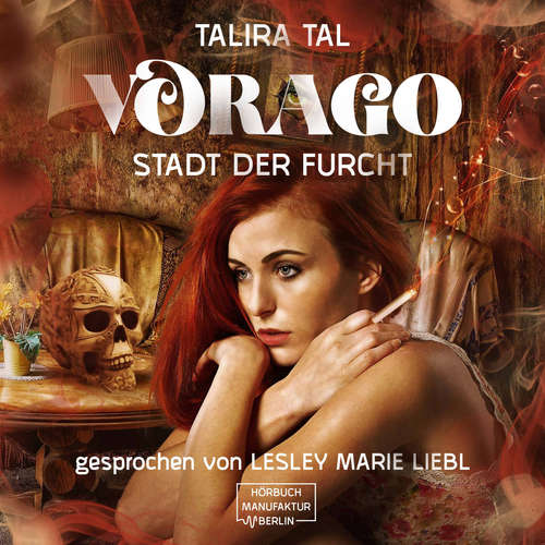 Hoerbuch Vorago - Stadt der Furcht - Jezabel Taylor - Lesley Marie Liebl
