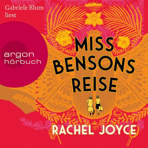 Hoerbuch Miss Bensons Reise - Rachel Joyce - Gabriele Blum