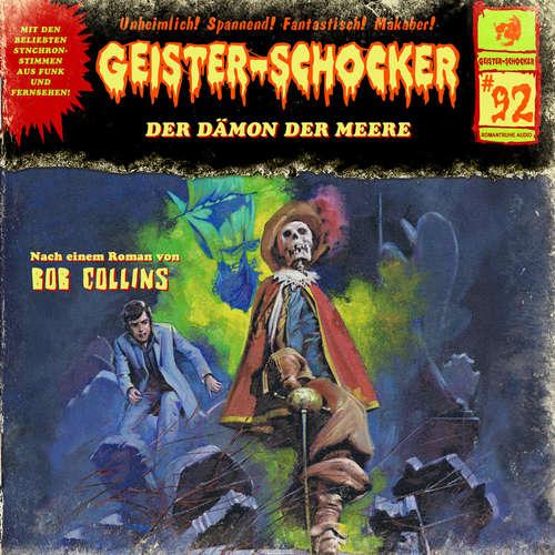 Hoerbuch Geister-Schocker, Folge 92: Der Dämon der Meere - Bob Collins - Gerald Paradies