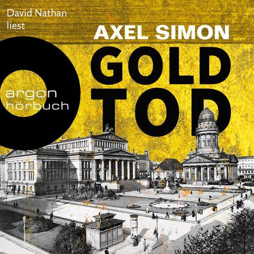 Hoerbuch Goldtod - Gabriel Landow, Band 2 - Axel Simon - David Nathan