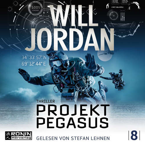 Hoerbuch Ryan Drake, Band 8: Projekt Pegasus - Will Jordan - Stefan Lehnen