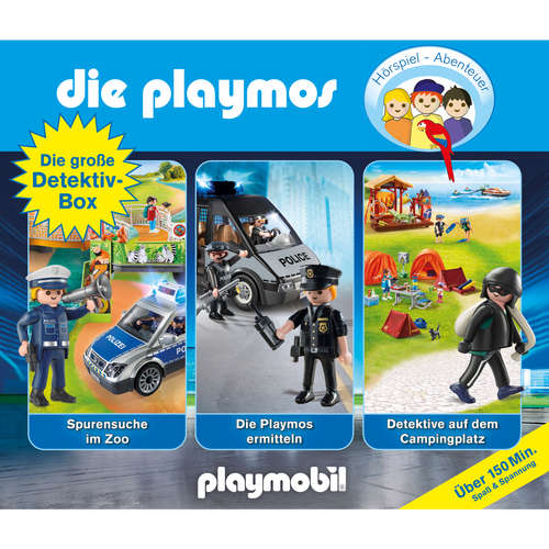 Hoerbuch Die große Detektiv-Box - Das Original Playmobil Hörspiel, Folgen 46, 66, 73 - David Bredel - Gerrit Schmidt-Foß