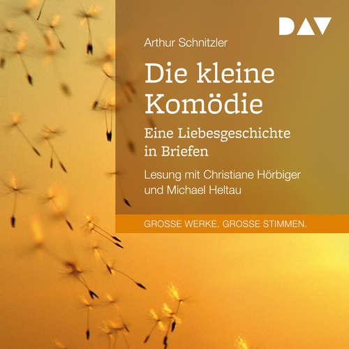 Hoerbuch Die kleine Komödie. Eine Liebesgeschichte in Briefen - Arthur Schnitzler - Christiane Hörbiger
