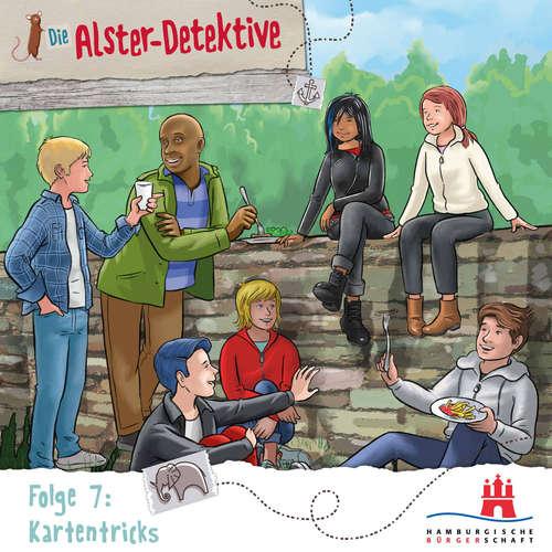 Hoerbuch Die Alster-Detektive, Folge 7: Kartentricks - Katrin Wiegand - Shirin Westenfelder