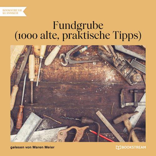 Hoerbuch Fundgrube - 1000 alte, praktische Tipps -  Anonym - Maren Meier