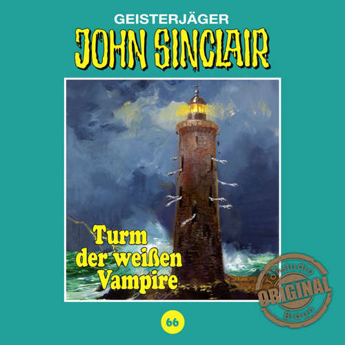 Hoerbuch John Sinclair, Tonstudio Braun, Folge 66: Turm der weißen Vampire - Jason Dark -  Diverse
