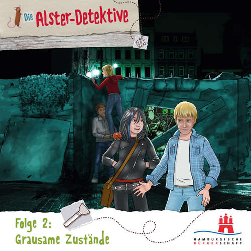 Hoerbuch Die Alster-Detektive, Folge 2: Grausame Zustände - Katrin Wiegand - Shirin Westenfelder