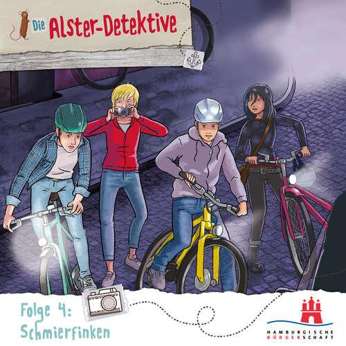Hoerbuch Die Alster-Detektive, Folge 4: Schmierfinken - Katrin Wiegand - Shirin Westenfelder