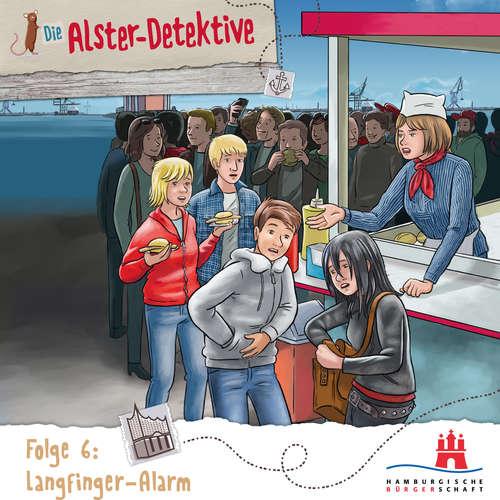 Hoerbuch Die Alster-Detektive, Folge 6: Langfinger Alarm - Katrin Wiegand - Shirin Westenfelder