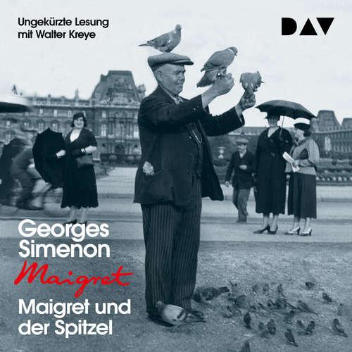 Hoerbuch Maigret und der Spitzel - Georges Simenon - Walter Kreye