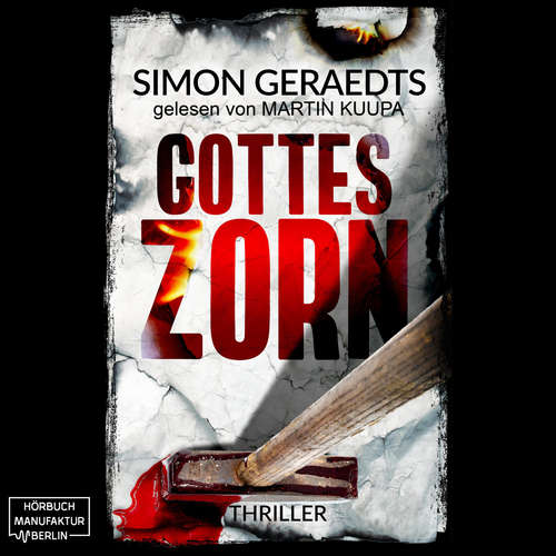Hoerbuch Gottes Zorn - Simon Geraedts - Martin Kuupa