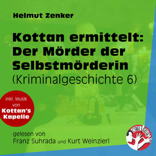 Hoerbuch Der Mörder der Selbstmörderin - Kottan ermittelt - Kriminalgeschichten, Folge 6 - Helmut Zenker - Franz Suhrada