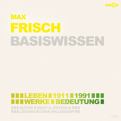 Hoerbuch Max Frisch (1911-1991) Basiswissen - Leben, Werk, Bedeutung (Ungekürzt) - Bert Alexander Petzold - Cora Hillekamp