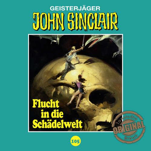 Hoerbuch John Sinclair, Tonstudio Braun, Folge 105: Flucht in die Schädelwelt - Jason Dark -  Diverse