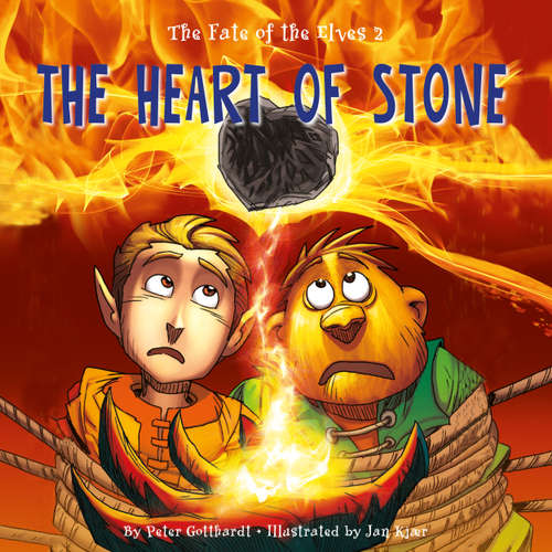 Audiobook The Heart of Stone - The Fate of the Elves 2 - Peter Gotthardt - Jed Odermatt