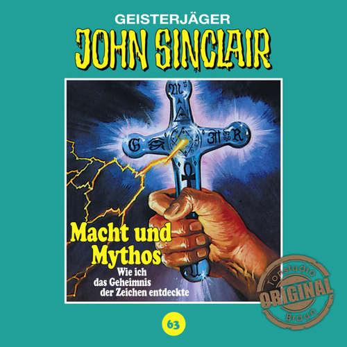 Hoerbuch John Sinclair, Tonstudio Braun, Folge 63: Macht und Mythos. Folge 3 von 3 - Jason Dark -  Diverse